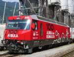 K3101 Kato RhB Ge4/4 III Albura Line 100th Anniversary Electric Locomotive